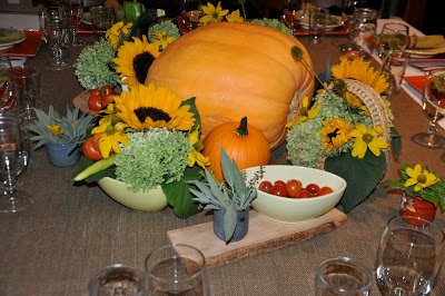 farm to table party place setting