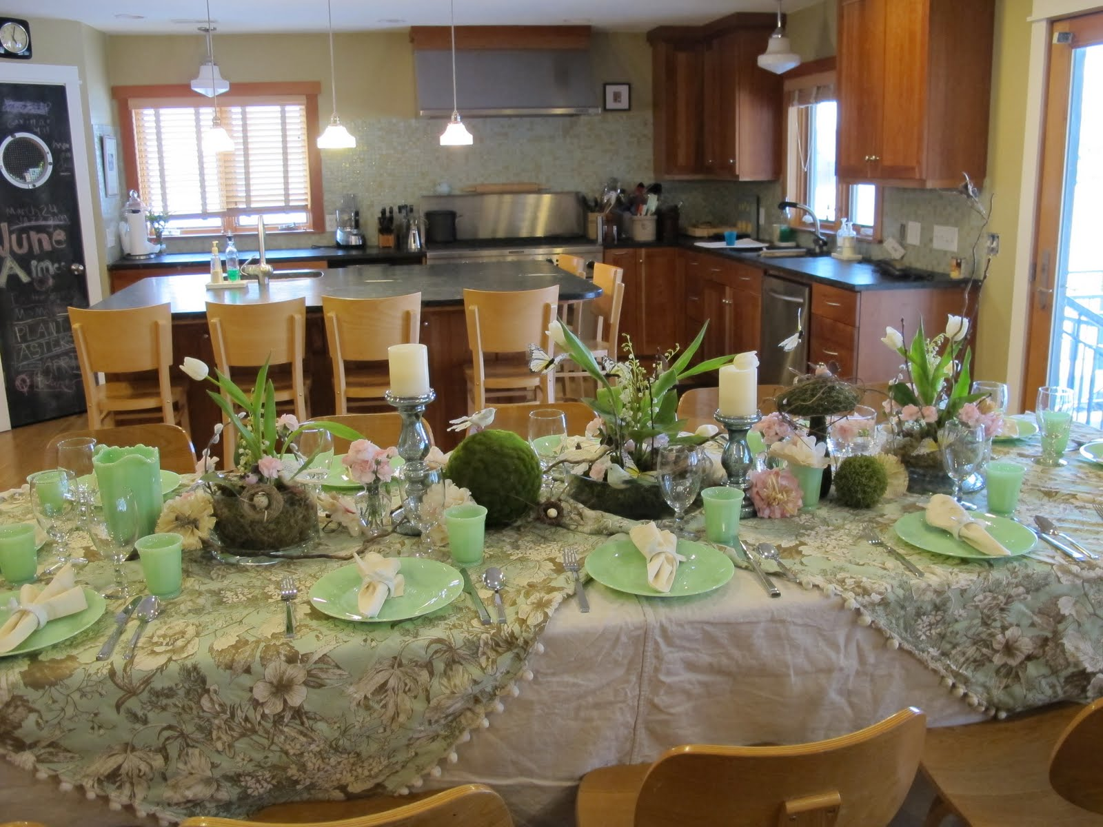 Spring Dinner Party Table Decorations Designs