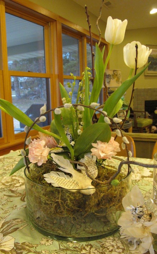 Spring Dinner Party Table Decorations by Aimee Ferre