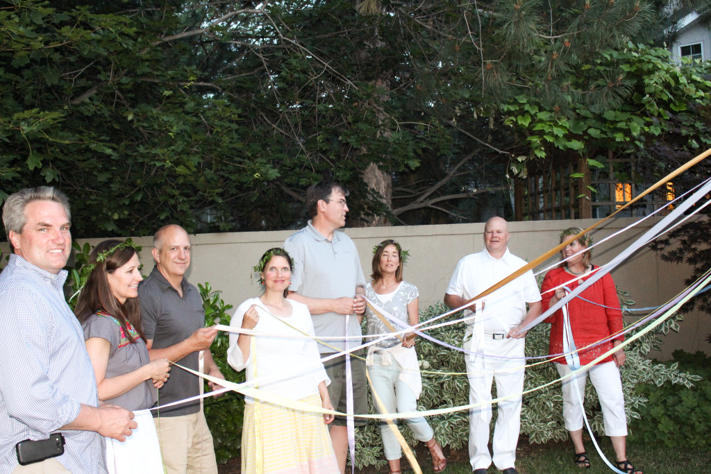 Midsummer Party - A Fragrant & Tasty Soirée - Maypole Dancing - Aimee Ferre
