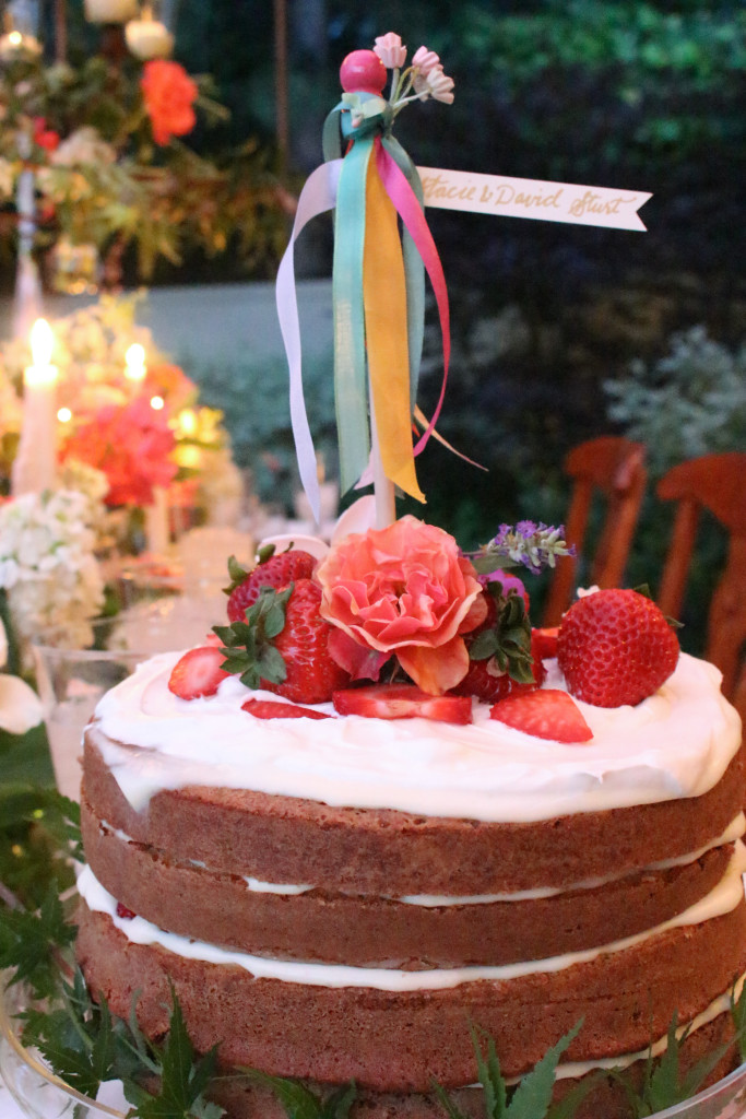 Midsummer Party - A Fragrant & Tasty Soirée - Strawberry Cream Cake - Aimee Ferre