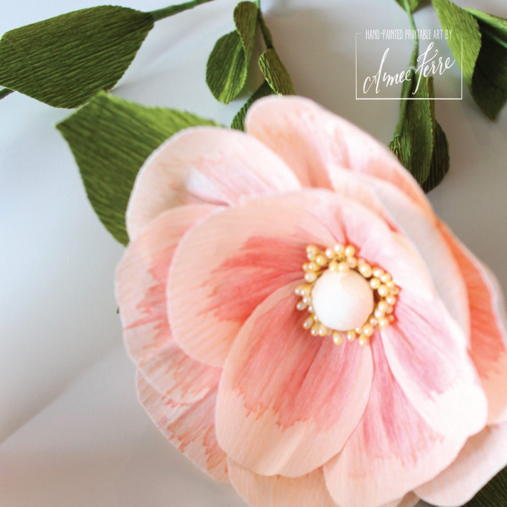 Advance Crepe Paper Flower DIY