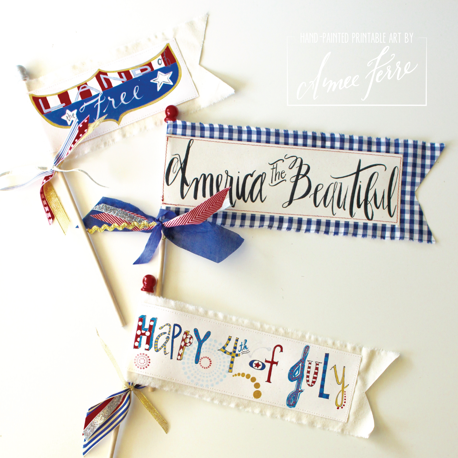 9 Patriotic Celebration Flags-01