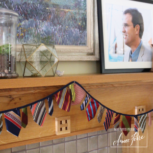Fathers Day Tie Garland Decoration