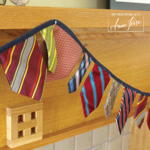Fathers Day Tie Garland Decoration 3