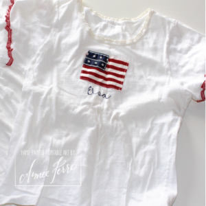 Handmade Fourth of July Parade tees