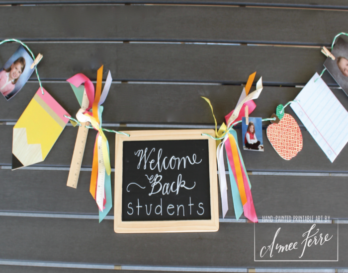 Back to School Garland
