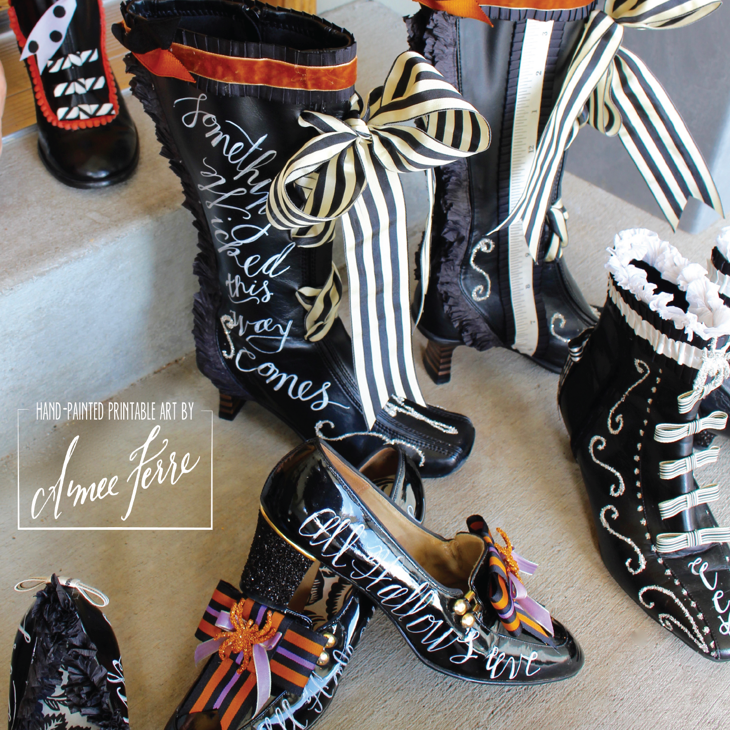 The Village Cobbler For Witch Boots Aimee Ferre
