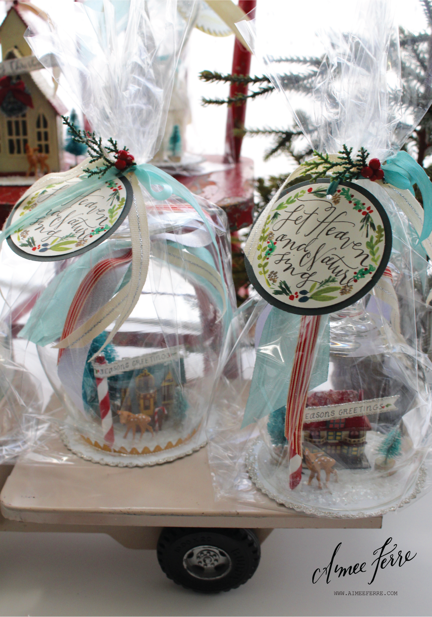 Resources for my showstopper holiday gift packaging for Michaels craft store utah