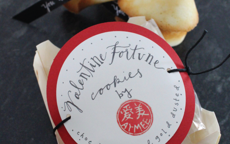 Valentine's Fortune Cookies:  We Are Fortunate Friends to Have Each Other