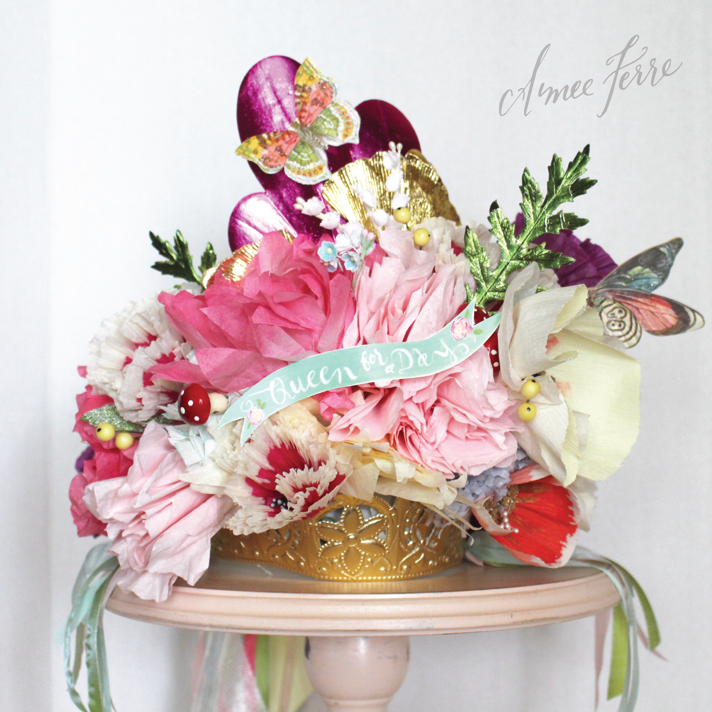 Mothers day archives aimee ferre c is for crowns and coupons let us not underestimate the value of a handmade taj mahal of crowns i have been making flower crowns for my girlfriends over izmirmasajfo
