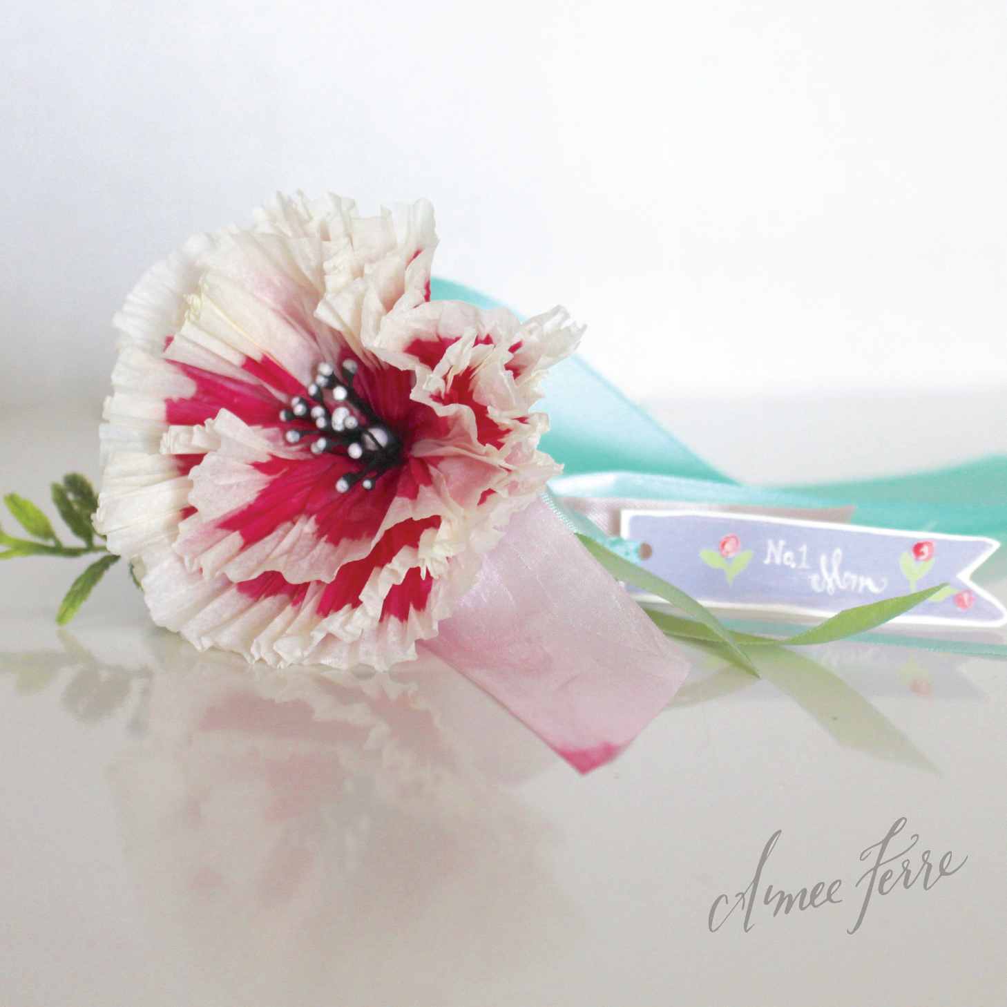 Abcs Of Queen For A Day On Mothers Day Wrist Corsage Art Project