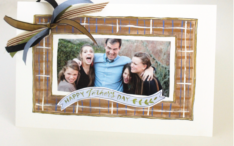 Father's Day Photo Card DIY Printable