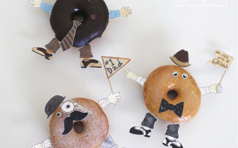 My Dapper Daddy-O Donuts Printables