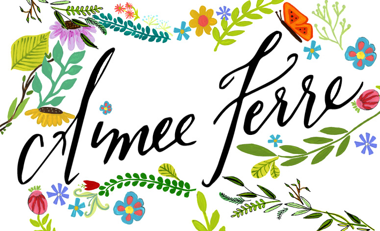 Aimee Ferre Creative Facebook Page is Up!   Finally…