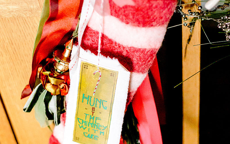 On the Second Day of Christmas, You Got Another Free Christmas Stocking Tag Printable!